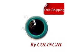 10Pairs 8mm/9mm/10mm/12mm/15mm/18mm Safety Colored Eyes  Doll Making Supply Animal Craft Plastic Eyes With Washers  No.19