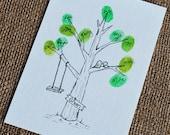 Family Thumbprint Tree 8x10 Fits 13-20 Thumbprints