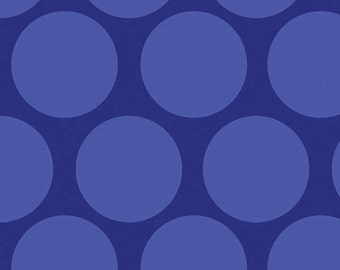 Camelot Cottons fabric Blue Tone-on-Tone DOTS