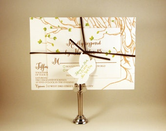 Tree Drawing Invitation