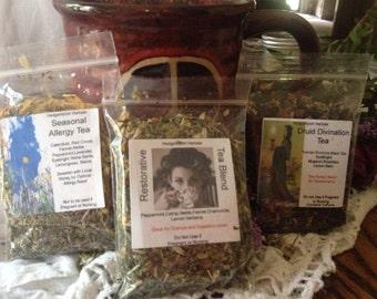 Hand Blended Herbal Tea Blends