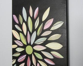 Flower Burst Canvas
