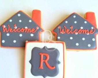 Housewarming & Monogram- Welcome Home Sugar Cookies