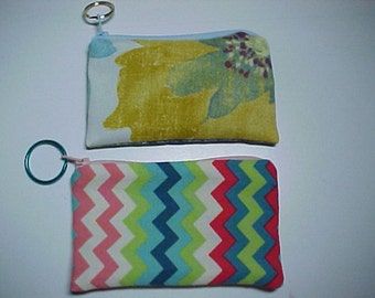 "Purses : My  "" ADD-A-POCKETS ""    Zippered Pockets with Ring for Crossbody Bags and Purses"