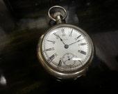1909  7 Jewel Elgin Pocket Watch