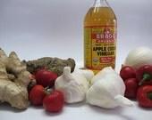 Master Tonic 8oz,Organic all natural cold & congestion remedy, anti-viral, anti-bacterial, herbal juice tonic, detoxifying