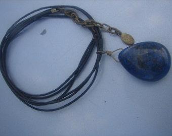 Marjorie Baer Lapis Necklace 154