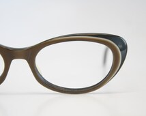 Cat Eyeglasses vintage Eyewear Retro Glasses Catseye glasses vintage frames brown B&L