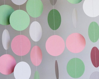 pastel baby shower decoration 1st birthday party decor 10 ft long