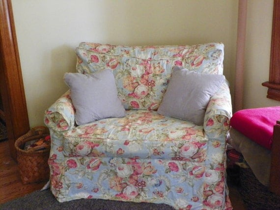 Chair and a Half Custom-Made Slipcover