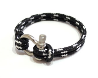 Nautical  Bracelet Men's Bracelet  Nautical Jewelry Nautical Bracelet Anchor Jewelry Rope Bracelet