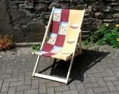 BBQ Deck Chair Folding Timber Frame McDonalds Burger Bye Brytshi