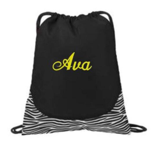 how to make a drawstring gym bag