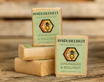 Lemongrass & Bergamot Soap