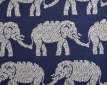 Popular Items For Elephant Fabric On Etsy