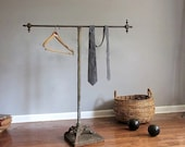 Victorian Industrial Clothing Rack.