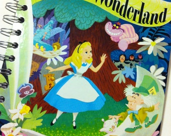 2016-17 Academic Calendar Year Planner Alice in Wonderland Little Golden Book OR Other LGB