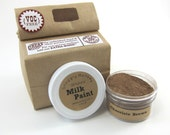 Brown Milk Paint - Non-toxic All Natural Paint Perfect for Unfinished Wood Projects- Chocolate