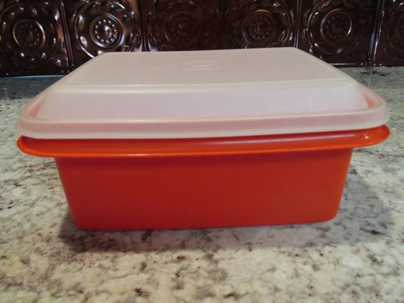 Vintage Tupperware Freeze N Save Container
