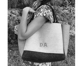 ArtAK AK Bag. Wool Felt Diaper Bag. Felt Gym Bag. Designer Diaper Bag. Lightweight Diaper Bag