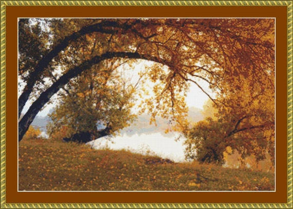 Indian Summer Cross Stitch Pattern /Digital PDF Files /Instant downloadable