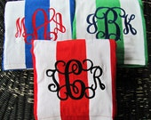 Monogrammed Beach Towel, Cabana Striped Towel, Monogrammed Stripe Towel, Stripe Beach Towel, Bridesmaids Gift, Teachers Gift, Stripe Towel