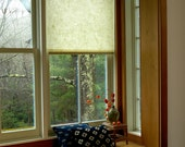 Natural Kozo (mulberry) roller shades, 3 papers available.