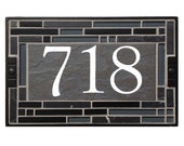 Black Cathedral Address Signs