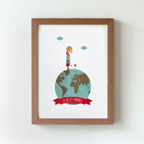 Illustration the little prince le petit prince by Decoration le petit prince