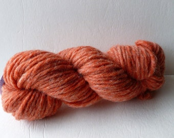 Sale Rust Heather Bulky Yarn by Bartlett Yarn