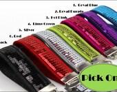 Wristlet Key Chain Wristlet Key Fob Sequin Wool Felt Strap Handle