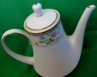RARE 1970s Noritake Finale Coffee Pot Very Good Hard to find