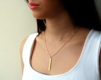 Gold filled necklace, gold necklace, unique necklace, 14k