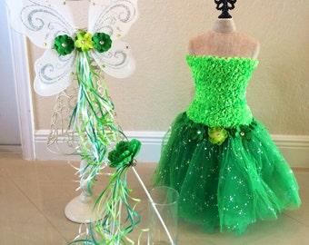 Tinkerbell Tutu, Fairy Costume, Tinkerbell Costume, Tinkerbell Tutu, Tinkerbell Wings, White Wings, Tinkerbell Fairy, Tinkerbell Birthday