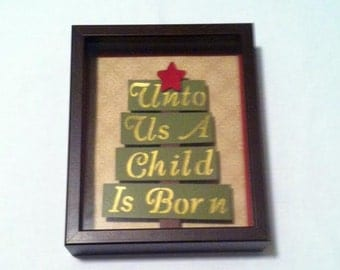 christmas decoration shadow box brown shadow box frame wooden frame christmas shadow box - Shadow Box Frames