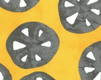 A Stitch in Color in yellow by Malka Dubrawsky for Moda 1 yard