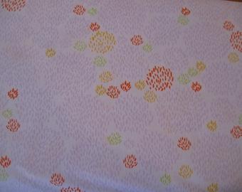Safari Sweet Organic Cotton Fabric  Lavender Bushes for Clothworks 1 yard