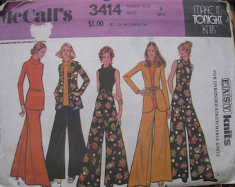 1970's sewing pattern