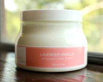 Whipped Shea Butter in Lavender Vanilla Scent