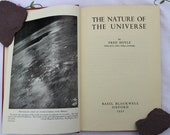 Nature of the Universe Astronomy Book by Fred Hoyle1952. Vintage British Science Book.