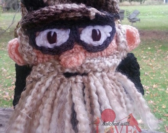 Crochet Duck Guys Beanie