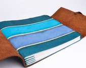 Small Turquoise Leather Journal
