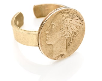 500 Lire adjstable ring