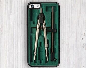 Green Compass Box iPhone 5C Case, iPhone 5 case, iPhone 5s Case, iPhone 4 Case, iPhone 4S case