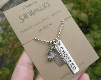 Chopped Chef Necklace