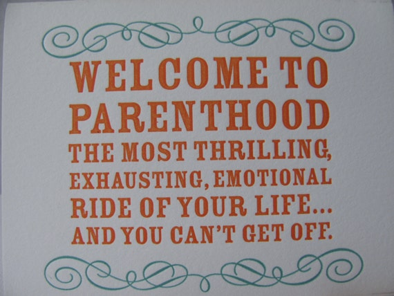 New Parent Card; Expecting Card; New Baby Card; Baby Shower Card; Bun in the Oven card; Funny New Parent Card; Humor Parent Card