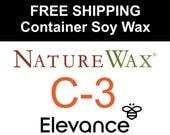 FREE SHIPPING - Soy Wax - NatureWax C-3