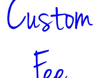 Custom Fee per Conversations