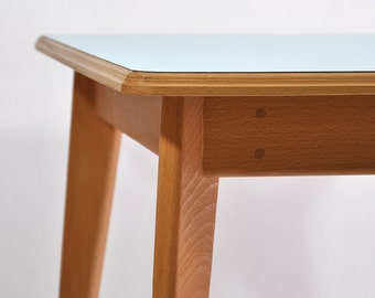 Square wooden Table for kids (or coffee...)