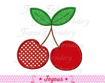 Instant Download  Cherry Applique Machine Embroidery Design NO:1442